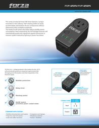 Forza Power Technologies Zion-2K FVP-1201B Leaflet