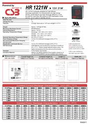 CSB HR1221W Leaflet
