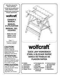 Wolfcraft QUICK JAW 6134 用户手册