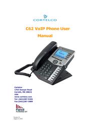 Cortelco IP Phone C62 User Manual