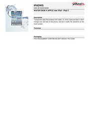 Phonix IPADWS Leaflet