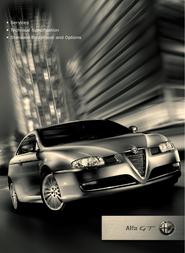 Alfa Romeo gt Specification Sheet