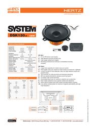 Hertz DSK 130.3 Leaflet