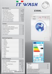 ITWASH E3508L Leaflet