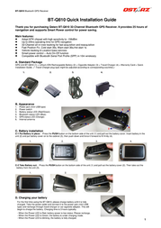 Qstarz bt-q810 Installation Instruction