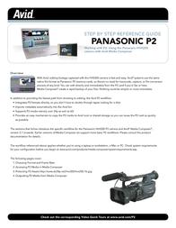 Avid Technology P2 User Manual