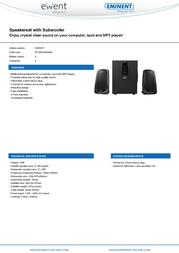 Ewent EW3507 Leaflet