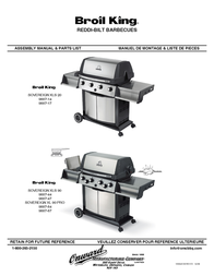 Broil King SOVEREIGN 9887-14 User Manual