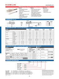 Hamlin 59060-1-T-02-A Data Sheet