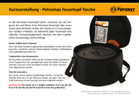 Petromax BAG FOR DUTCH OVEN FT6 U. FT9 ft-ta-m Data Sheet