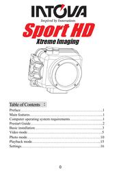 Intova sp1 User Guide