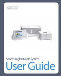 Sonos Digital Music System User Manual