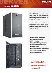 Extra Computer NAS exone 2200 45950 Leaflet