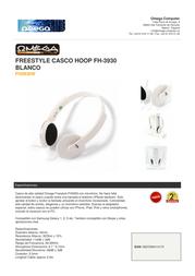 Omega FH3930W Leaflet