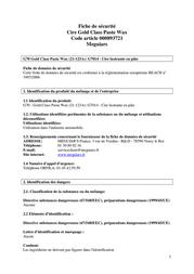 Meguiars G7014 311 g G7014 Data Sheet