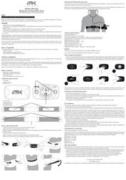 iMaze SFSTRHR-BLE SFSTRHR-BLE/001-BLE User Manual