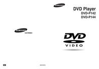 Samsung DVD Player DVD-P144 DVD-P144 User Guide