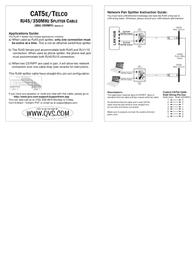 QVS Log Splitter C5YMFF Leaflet