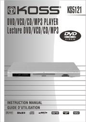 Koss KS5121 User Manual