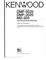 Kenwood DMF-3020 User Guide