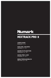Numark DJ Controller Mixtrack Pro MK II 101812 Data Sheet