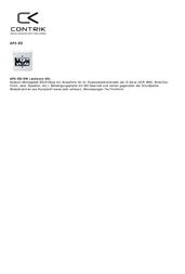 Contrik A-AP2-ED EDIZOdue A-AP2-ED Data Sheet