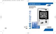 Dostmann Electronic LOG100 Temperature Data Logger 5005-0100 User Manual