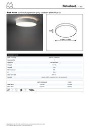Modular Flat Moon 11831632 Data Sheet