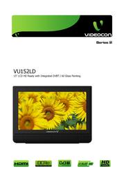 Videocon VU152LD User Manual