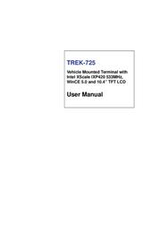 Trek TREK-725 User Manual