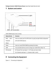 ZTE H560N 3G WLAN AP, REPEAT.&HOTSPOT H560N Data Sheet