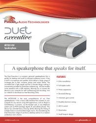 Phoenix Audio MT202-EXE Leaflet