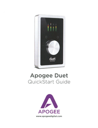 Apogee Duet Owner's Manual