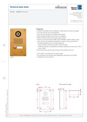 myintercom MYI0004 Product Datasheet