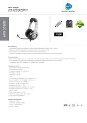 Wavemaster HPX 3090M 71039 Leaflet