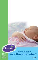 Summer Infant Ear Thermometer User Manual
