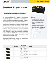 SurgeX SA-966 Leaflet