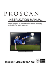 PROSCAN PLDED3996A-C2 User Manual