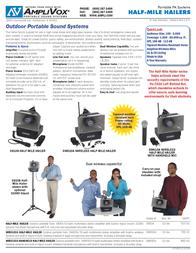 AmpliVox SW635 Leaflet