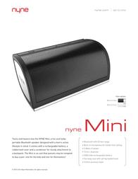 NYNE MINI GRY/GRN Data Sheet