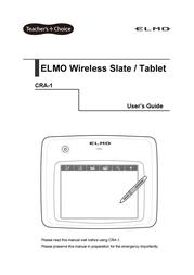 Elmo CRA-1 User Manual