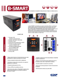 CDP B-Smart 1108 B-SMART 1108 Leaflet