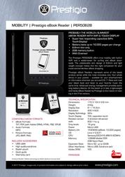 Prestigio PER5062B Leaflet