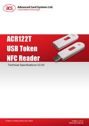 ACS ACR122T-WD ACR122T-E2ACSA User Manual