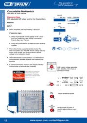 Spaun SMS 9982 NF 842385 Leaflet