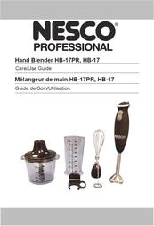 Nesco HB-17PR User Manual