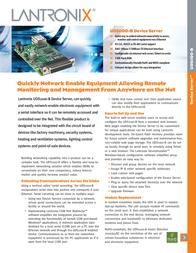Lantronix Embedded Device Server 500-171-R Leaflet