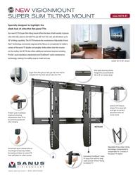 Sanus Systems VLT15 Leaflet