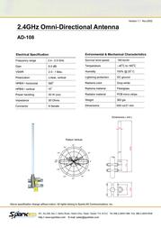 SparkLAN AD-108K Leaflet