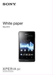Deutsche Telekom Sony Xperia go 99919629 User Manual